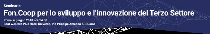 Seminario terzo settore Roma 6 giugno 2018